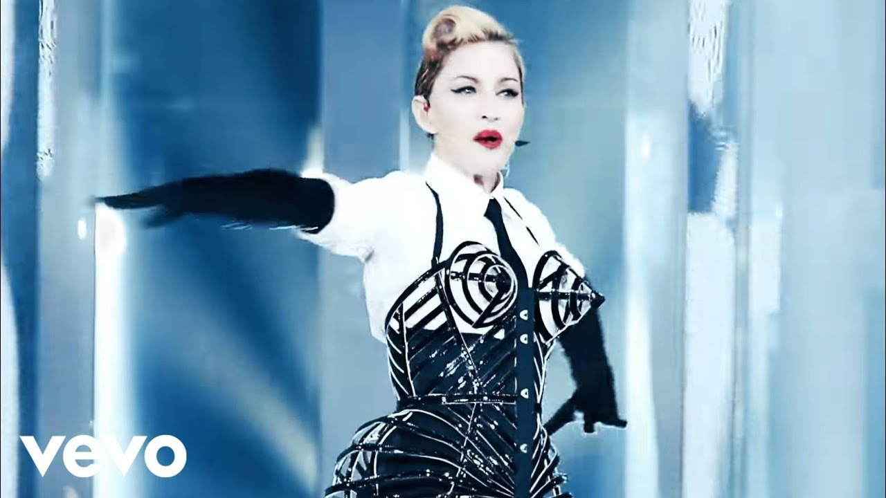 Madonna vogue mdna world tour youtube voltagebd Image collections
