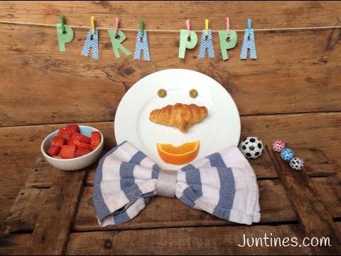 Divertido desayuno para el día del padre