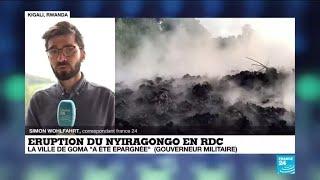 RD Congo : la coulée de lave du volcan Nyiragongo s'est arrêtée, la ville de Goma épargnée