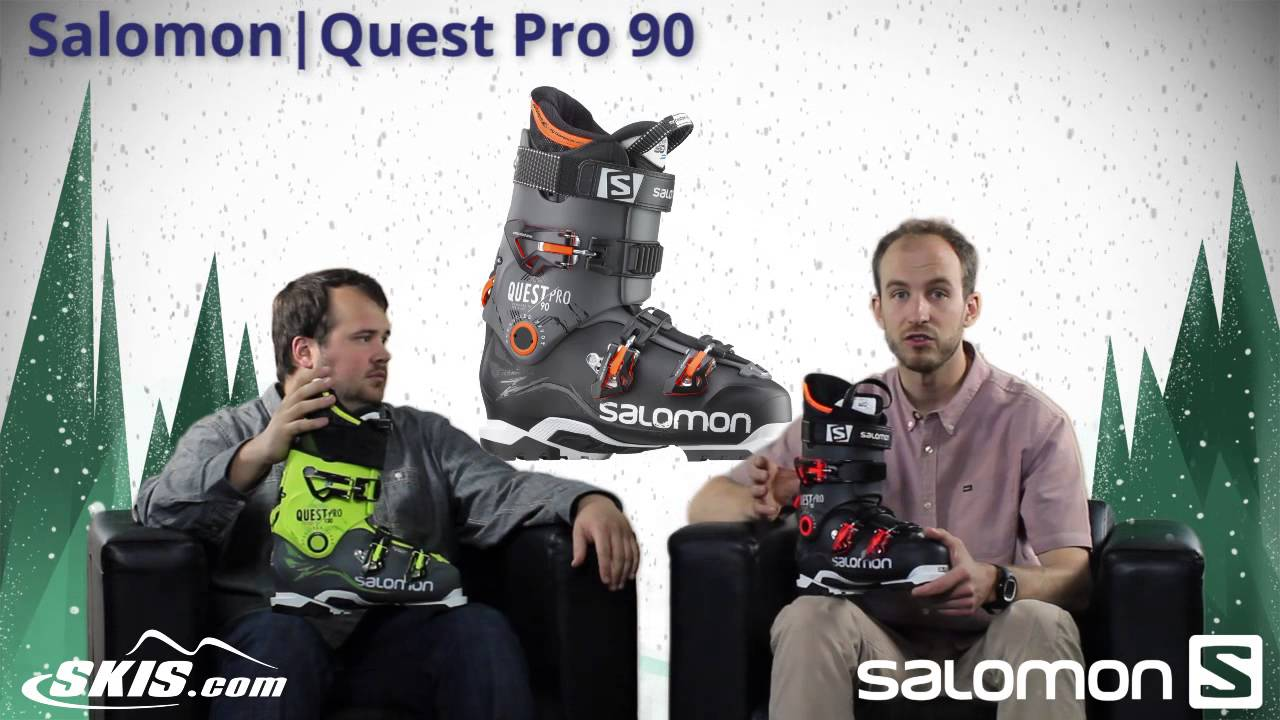 2016 Salomon Quest Pro 90, 110, and 130 Mens Boot Overview by SkisDOTcom