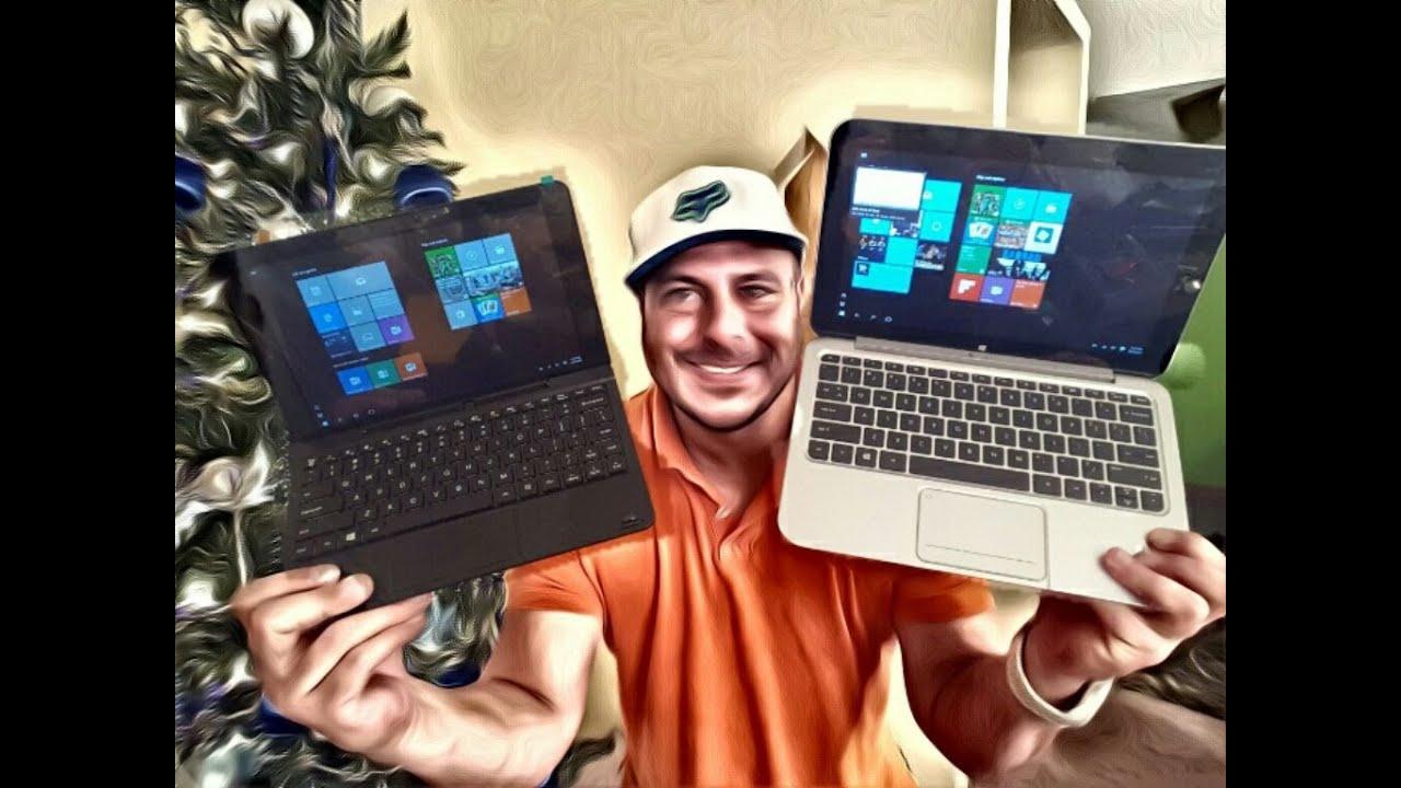RCA Cambio Windows 10 Laptop vs HP ENVY X2