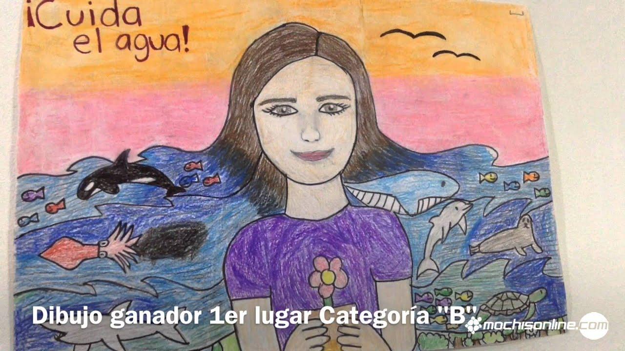 Premiación De Los Dibujos Del Día Mundial De Agua Por Parte De