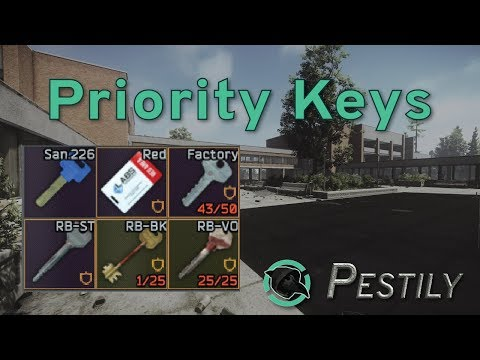 Priority Keys V.12 - Guide - New Players Guide - Escape From Tarkov