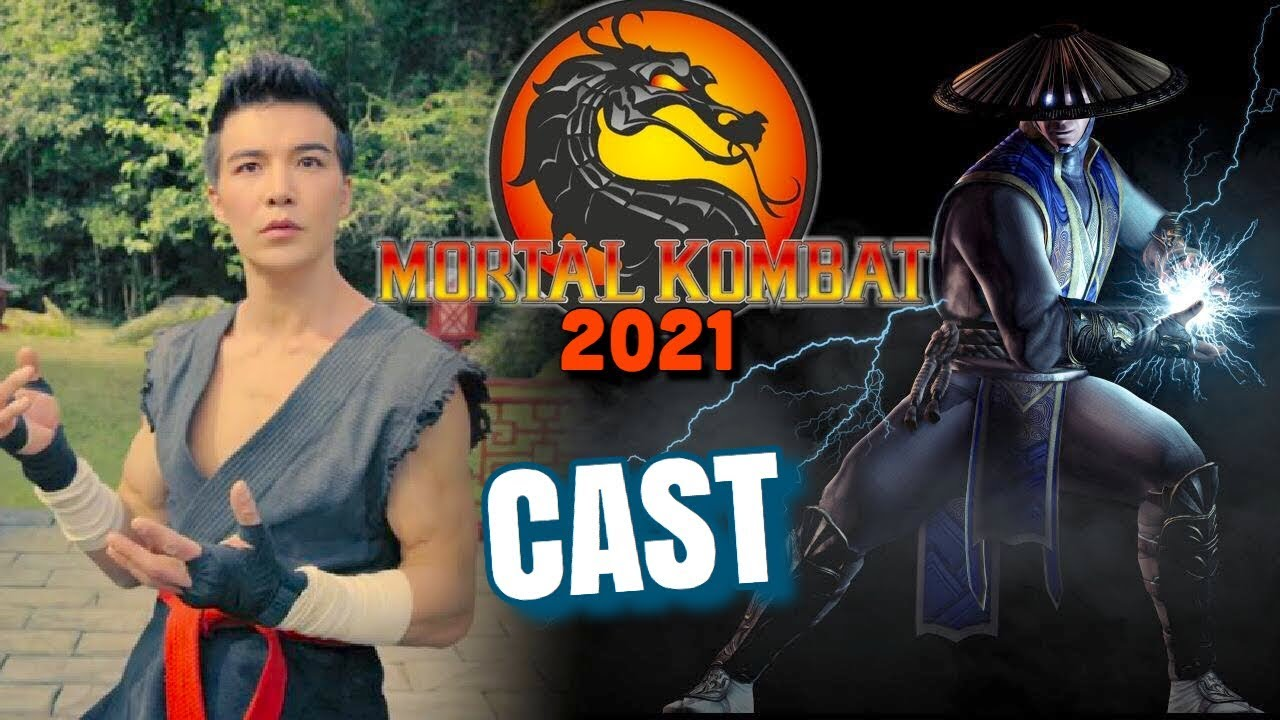 Mortal Kombat Movie Cast Characters Revealed Youtube