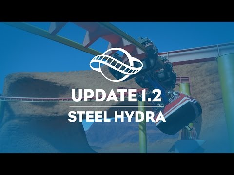 Steel Hydra (No Audio) - PAX East 2017 - Planet Coaster