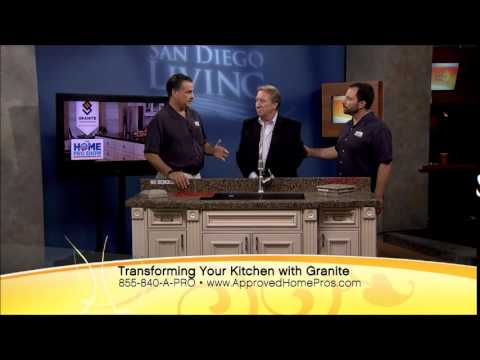 Superbe Granite Transformations Countertop Overlay On The Home Pro Show