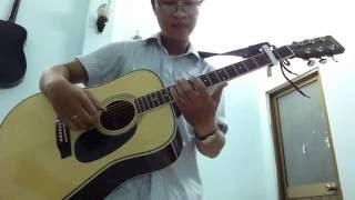CHƯA BAO GIỜ (Trung Quân) Guitar solo Tiếng hát của em YAMAKI Cover by Ngón Tay Xấu