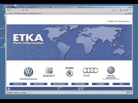 Instalação ETKA 7.4 em VMware