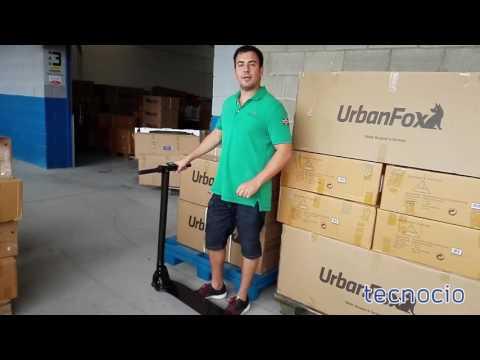 Patinete eléctrico UrbanFox Light | Tecnocio.com