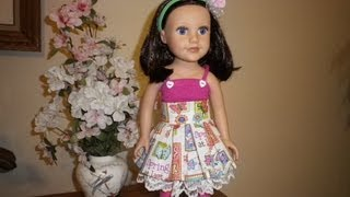 Repeat youtube video How to Make Doll Clothes Odds and Ends Pt. 1