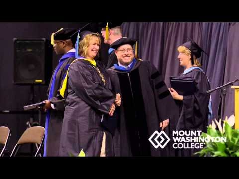 2014 Mount Washington College Graduation for Bachelor of Science - Business Admin (CBN)