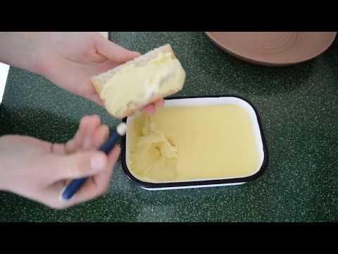 Плавленный сыр из козьего творога.
