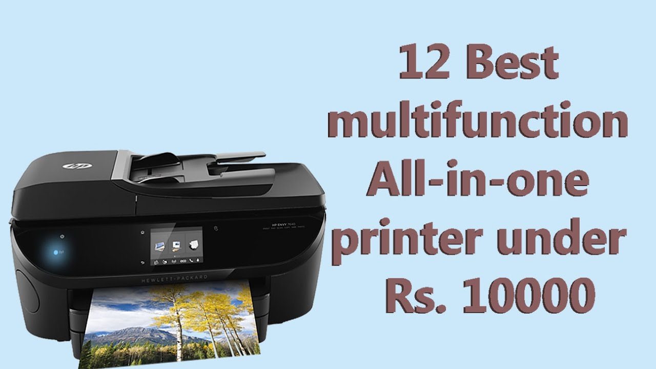 12 Best multifunction printer under Rs 10000($147) 2017 | value ...