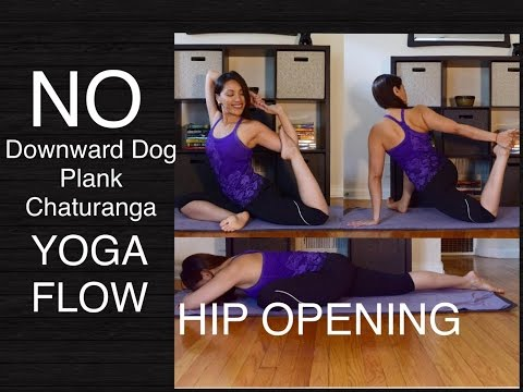 Hip Opening Wrist Free Hands Free Yoga Flow for All Levels - 45 Minutes