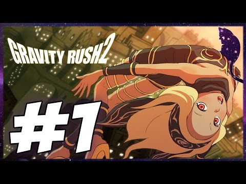 Gravity Rush 2 - Parte 1 - A NOVA AVENTURA DE KAT - Legendado PT-BR PS4 PRO