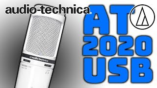 Audio Technica AT 2020 USB Plus Mikrofon Test