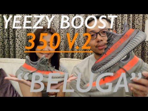 "SNEAKER REVIEW : ADIDAS YEEZY BOOST 350 V.2 ""BELUGA"" !!"