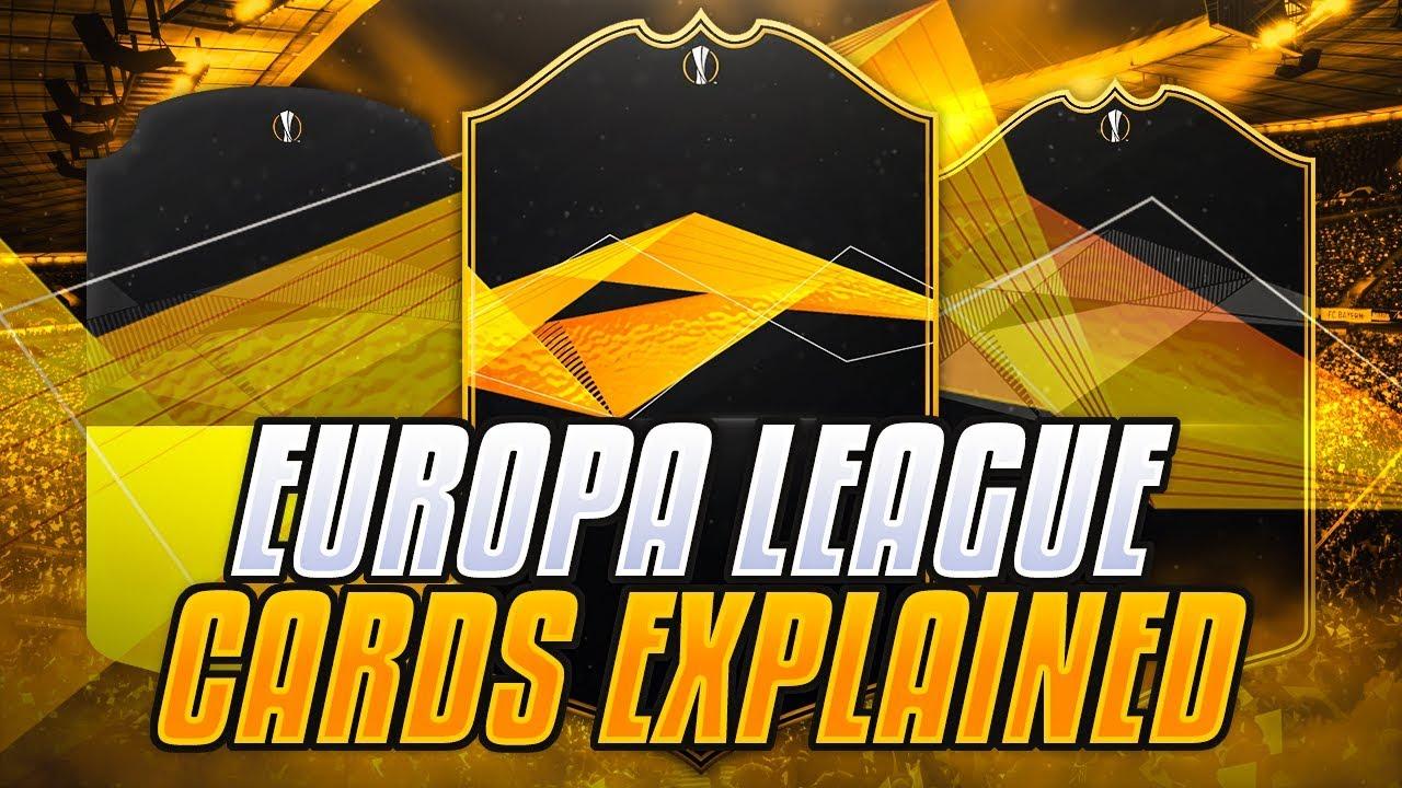 Fifa 19 Europa League Cards Explained