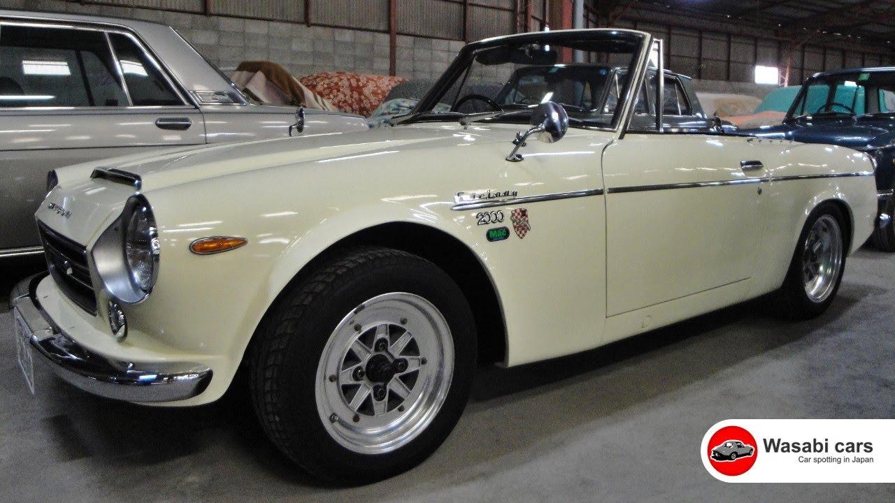 Sepia Collection: A 1968 Datsun Fairlady 2000 - YouTube