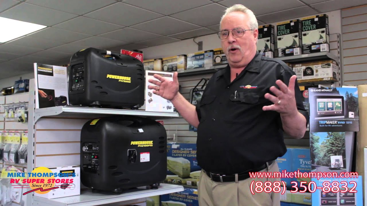 RV Portable Generators Overview by Mike Thompson s RV Super Stores