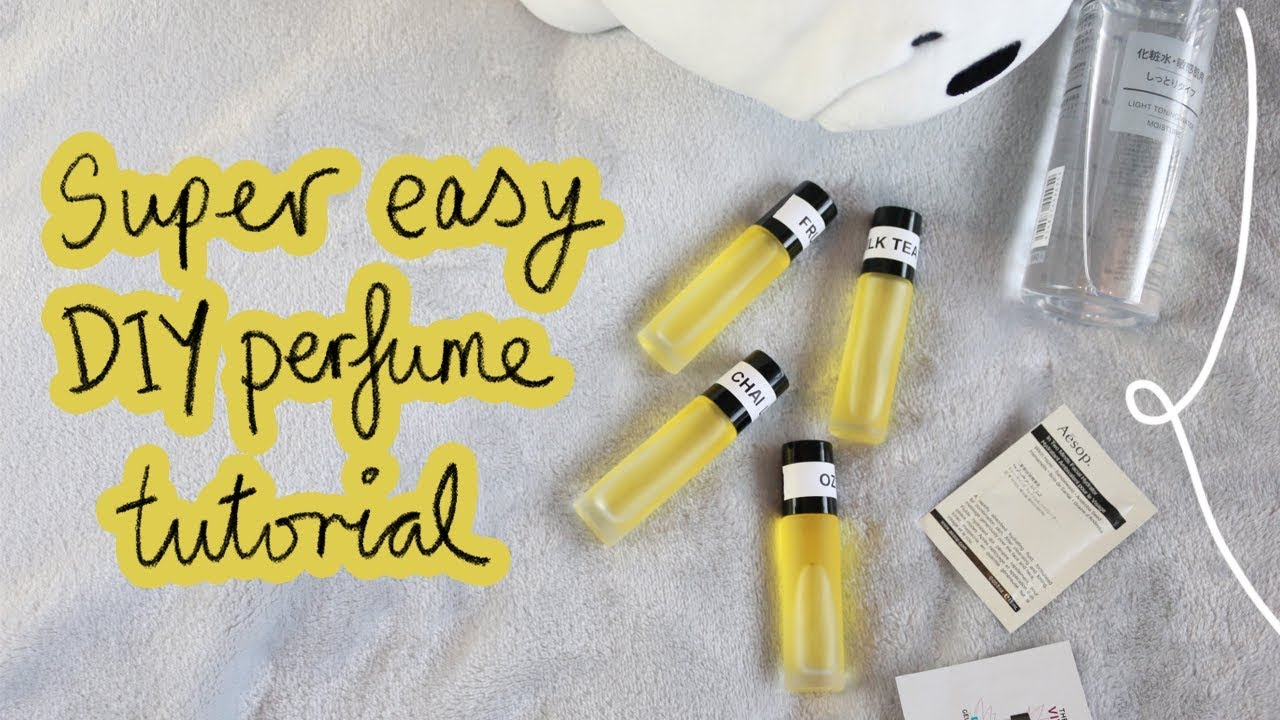 Download how to make your own perfume ⭐ (SUPER EASY)
