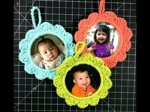 Christmas Picture Frame Ornaments - YouTube