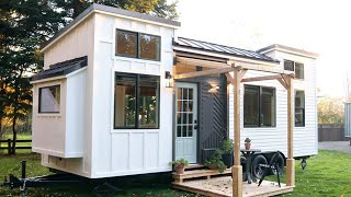 Absolutely Beautiful Pacific Harmony Tiny House On Wheels By Handcrafted Movement