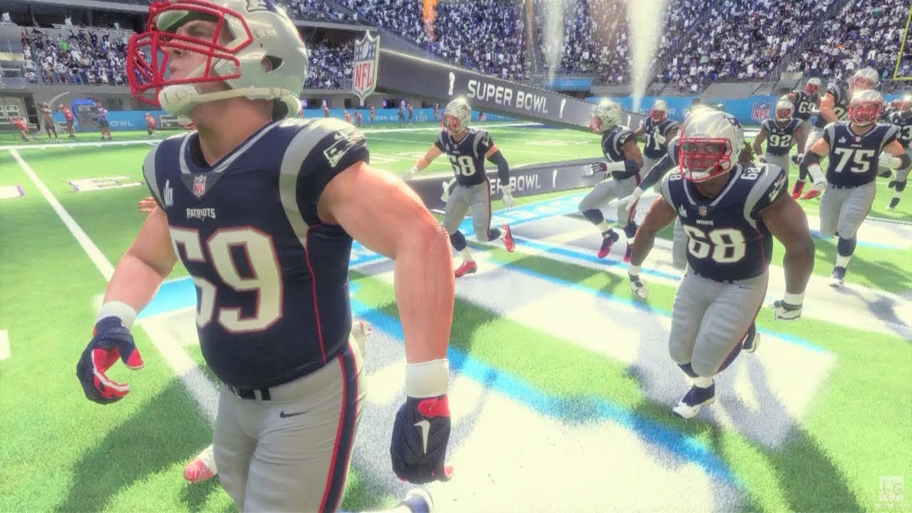 low priced 32151 8379f Super Bowl LII - New England Patriots vs Dallas Cowboys Gameplay Madden NFL  18