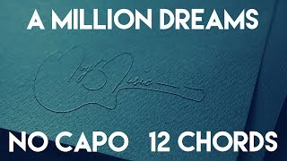 Download Lagu How To Play A Million Dreams by Ziv Zaifman, Hugh Jackman & Michelle Williams | No Capo (12 Chords) Mp3