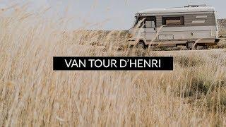PRÉSENTATION DE MON CAMPING CAR transformé en STUDIO ROULANT #henrithebus ( VAN TOUR )