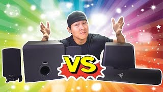 UNBOXING - RAZER LEVIATHAN vs KLIPSCH PROMEDIA - The Ultimate PC Speakers Duel!