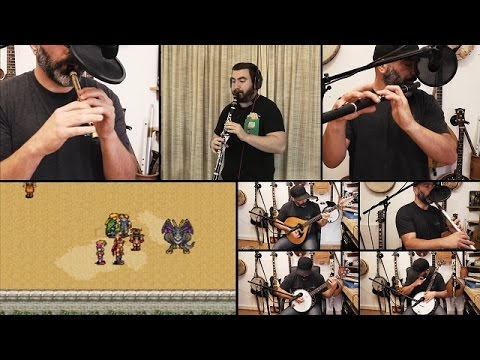 Suikoden (PSX) - 'Beautiful Golden City' Cover Ft. Banjo Guy Ollie mp3