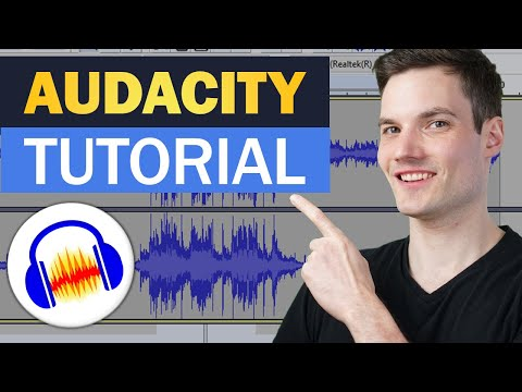 🔊 How to use Audacity to Record & Edit Audio - Beginners Tutorial