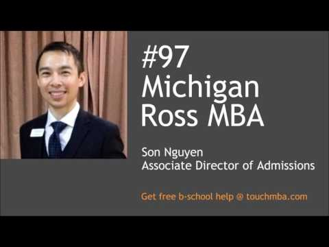 Michigan Ross MBA Admissions Interview with Son Nguyen