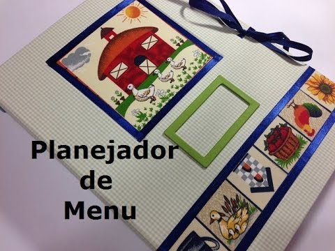 Planejador de Menu (Menu Planner) - VIDEO