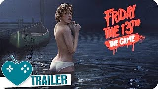 FRIDAY THE 13th: THE GAME E3 Gameplay Trailer (2016) Xbox One, PS4, PC