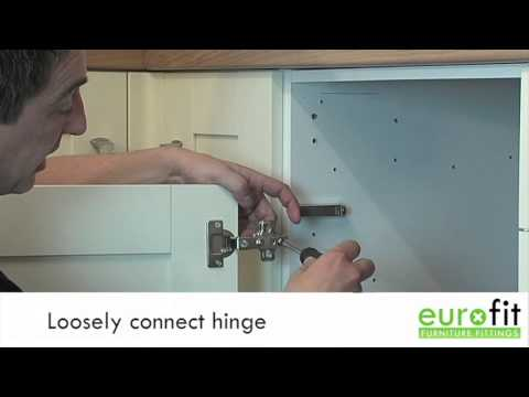 How To Fit Or Replace A Kitchen Hinge