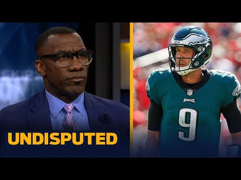 Skip and Shannon disagree on the Eagles letting Nick Foles walk, sign with Jags | NFL | UNDISPUTED