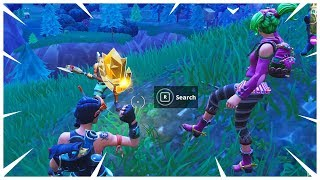 Week 7 Battle Pass Challenge - Follow the treasure map found in Pleasant Park