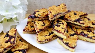 Песочное печенье с вареньем. Рецепт печенья, простой и невероятно вкусный.кулинария, рецепты.
