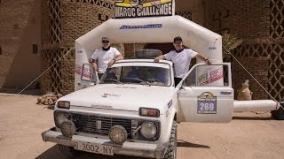 Terminiva (Lada Niva) SE2013 Maroc Challenge   Travelling Home