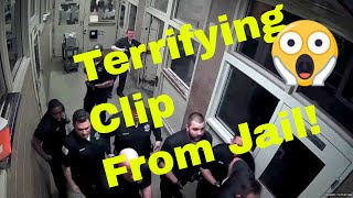 TERRIFYING SCENE!! - Jail Inmates Viciously Attack Correctional Officers