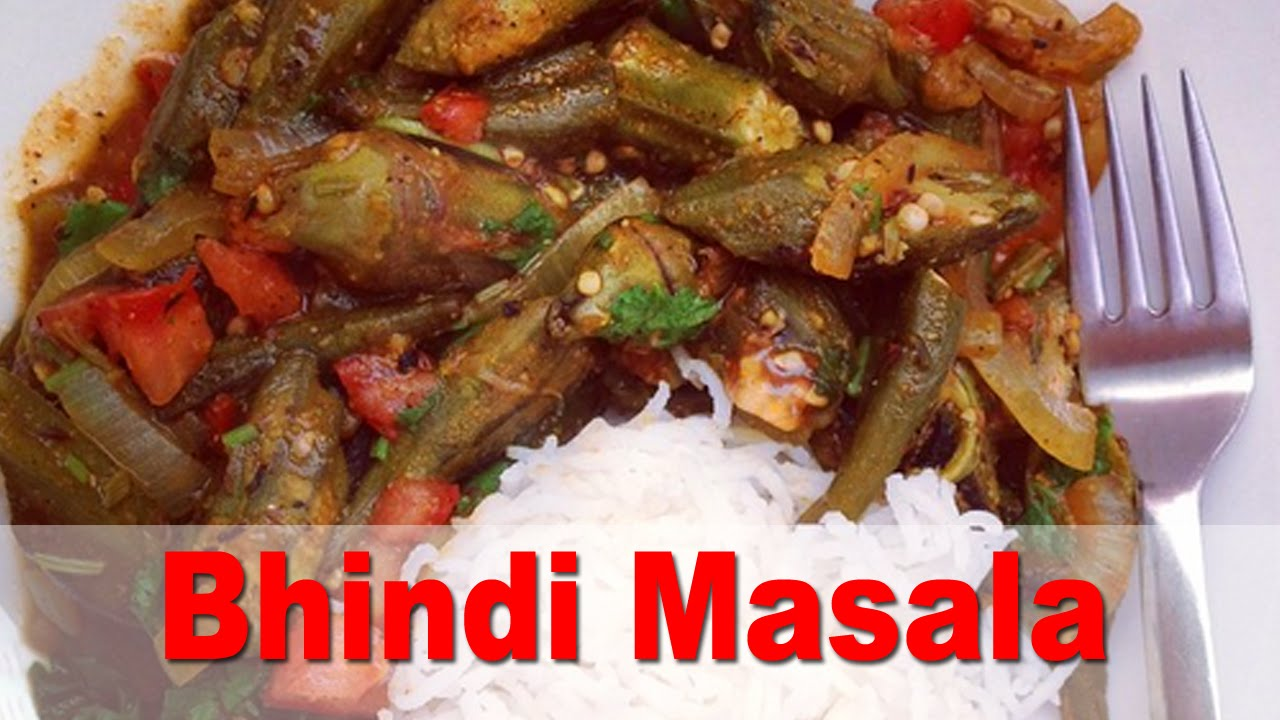 Authentic indian bhindi masala spicy okra oil free vegan recipe authentic indian bhindi masala spicy okra oil free vegan recipe forumfinder Images