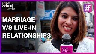 Debate marriage in Live before
