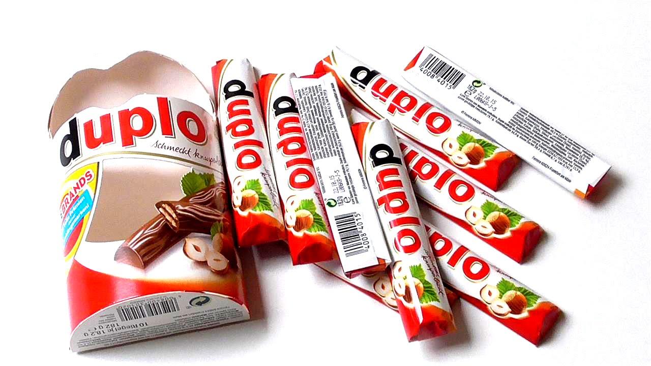 Ferrero Duplo | ASMR - YouTube