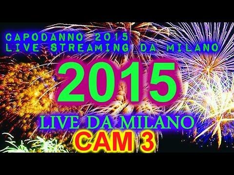 LIVE DI CAPODANNO 2015 - in diretta da milano - camera mobile - capodanno 2015
