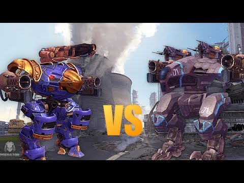 RAVEN vs INQUISITOR | Which Robot Is Stronger? | War Robots