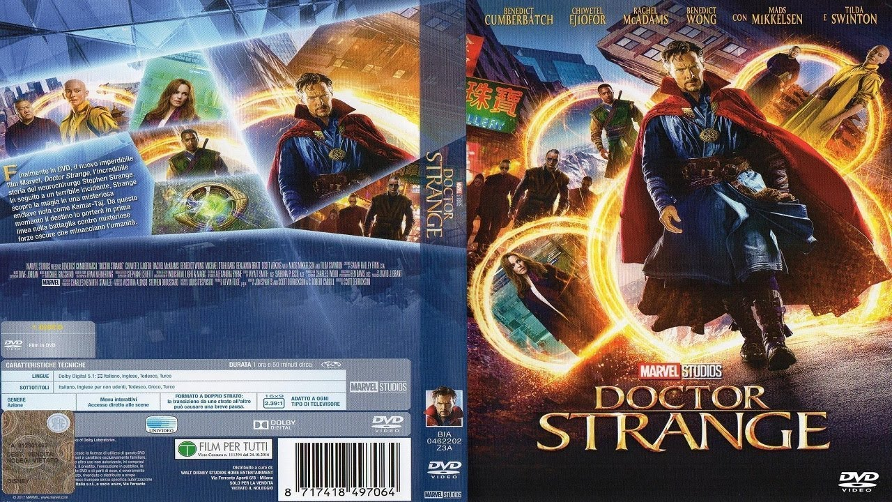 Opening Doctor Strange 2016 Dvd Youtube