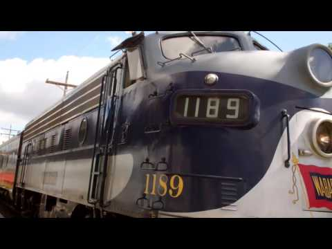 Highlights from the Monticello, IL Railway Museum Railroad Days w/ Wabash 1189/Southern 401 09/17/16