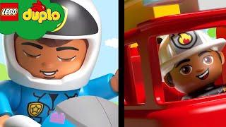 LEGO DUPLO - Hometown Heroes | Learning For Toddlers | Nursery Rhymes | Cartoons and Kids Songs